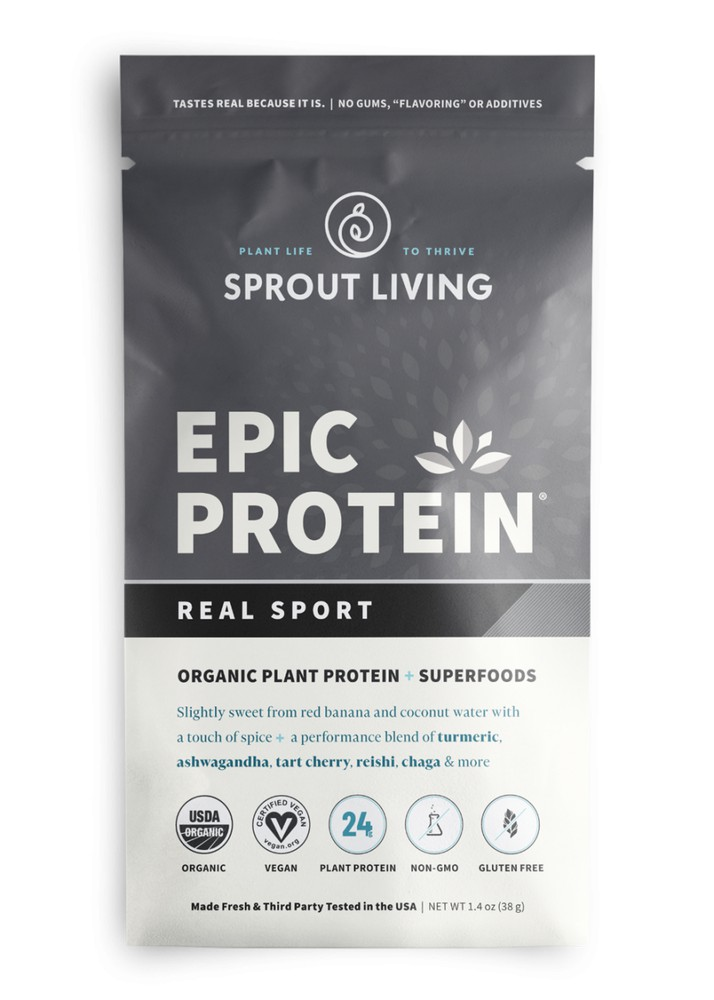Epic protein real sport 38 gramos