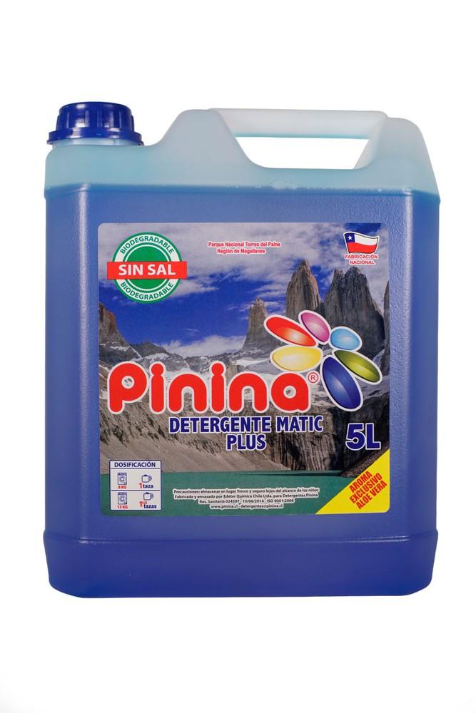 Detergente plus azul