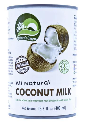 Alimento (leche) líquido de coco