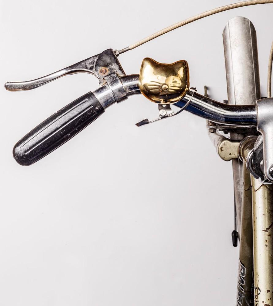 """Campana para bicicleta """"cat bike bell"""" 4.6x5.2 cm"""