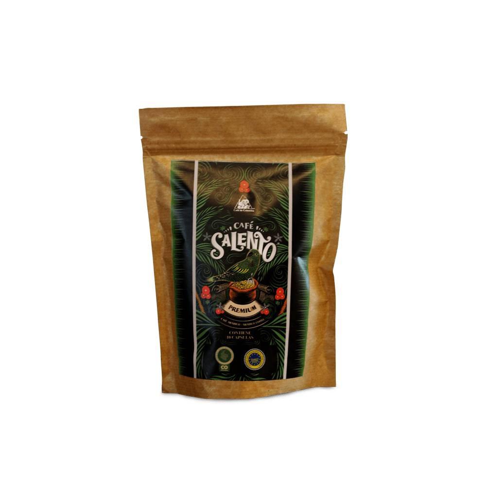 Cápsulas de café premium 10 unidades