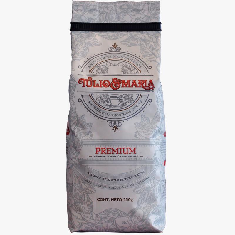 Café Tulio y Maria Molido 250 g