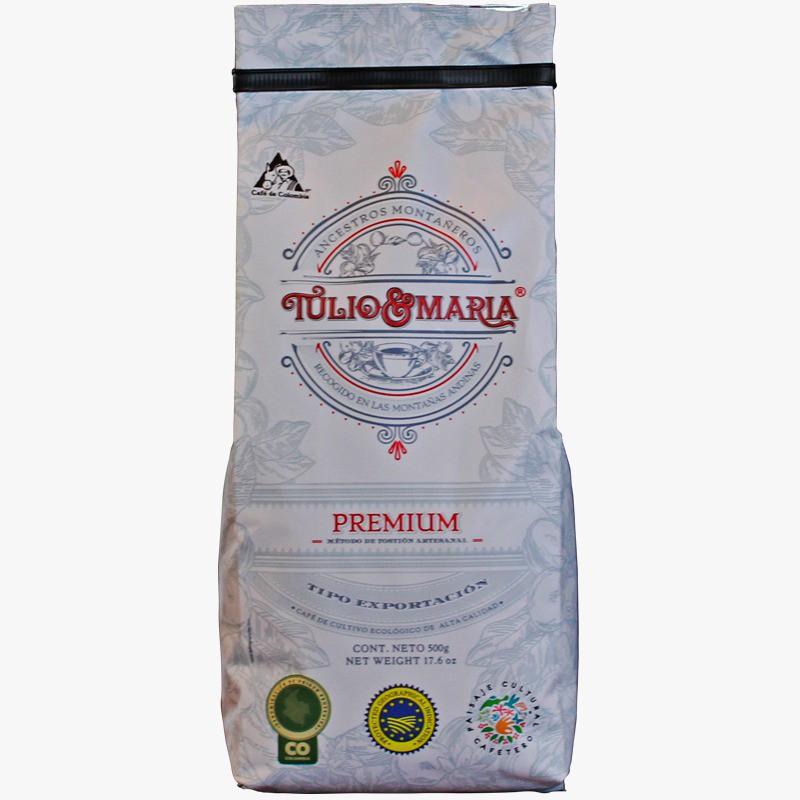 Café Tulio y Maria Molido 500 g