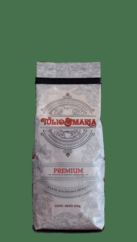 Café Tulio y Maria Grano 250 g