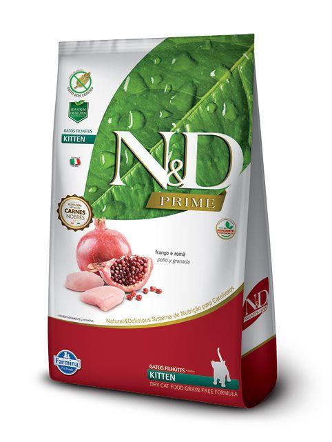 N&d kitten grain free 7,5 Kg