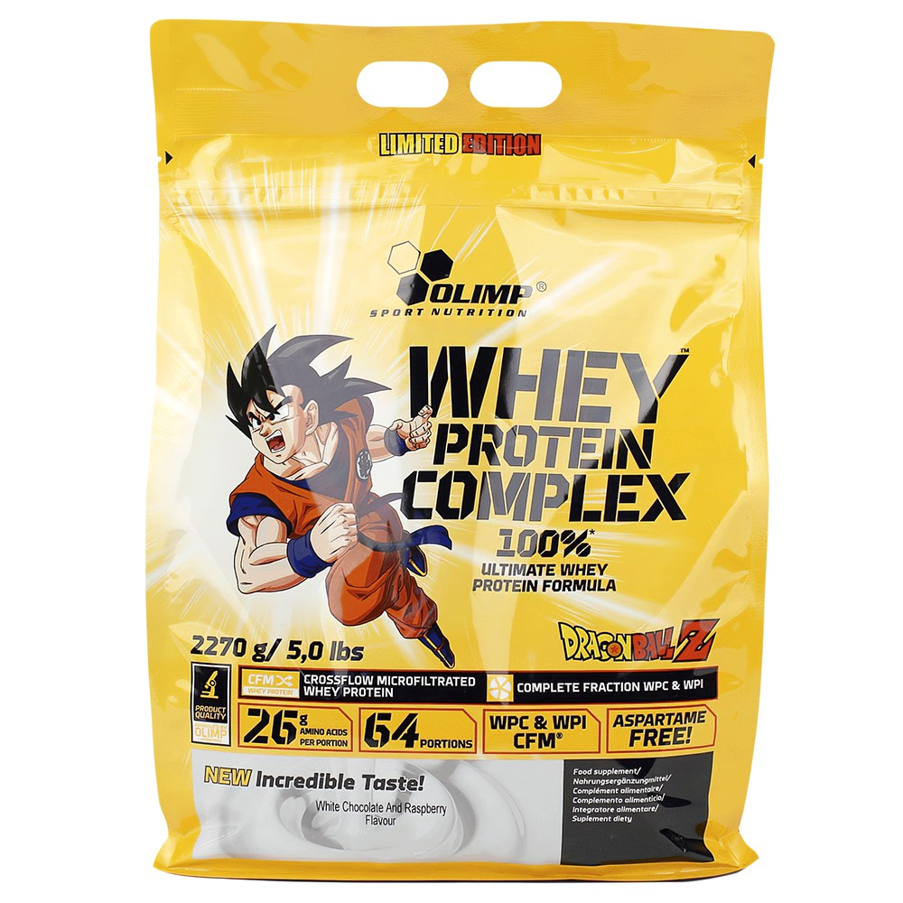 Whey protein Complex Bag  White Chocolate and Raspberry Bag de 5 lbs
