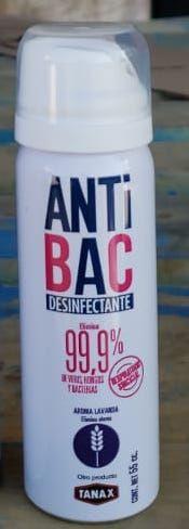 Antibac Mini Spray 55cc