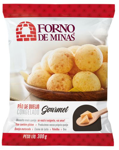 Pão de queijo gourmet