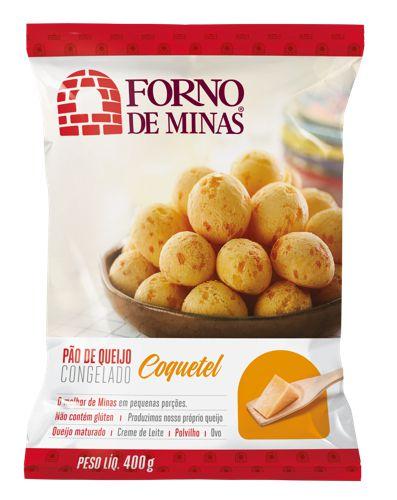 Pão de queijo tradicional coquetel