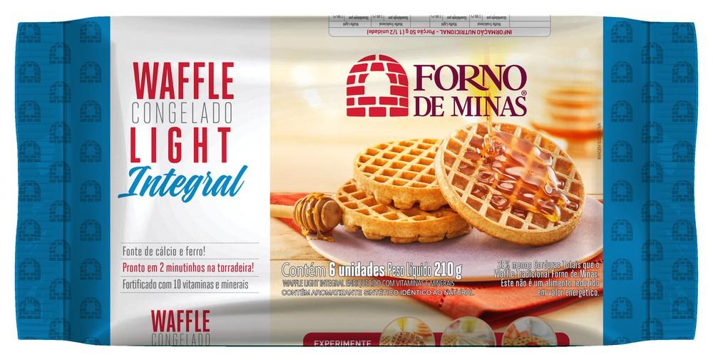 Waffle light integral