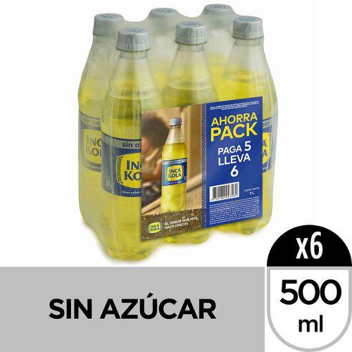 Pack gaseosa sin azúcar