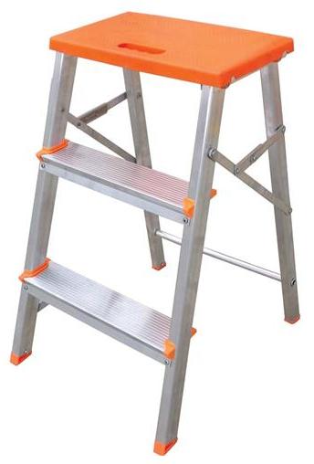 Escada alumínio banqueta 3 degraus 61cm