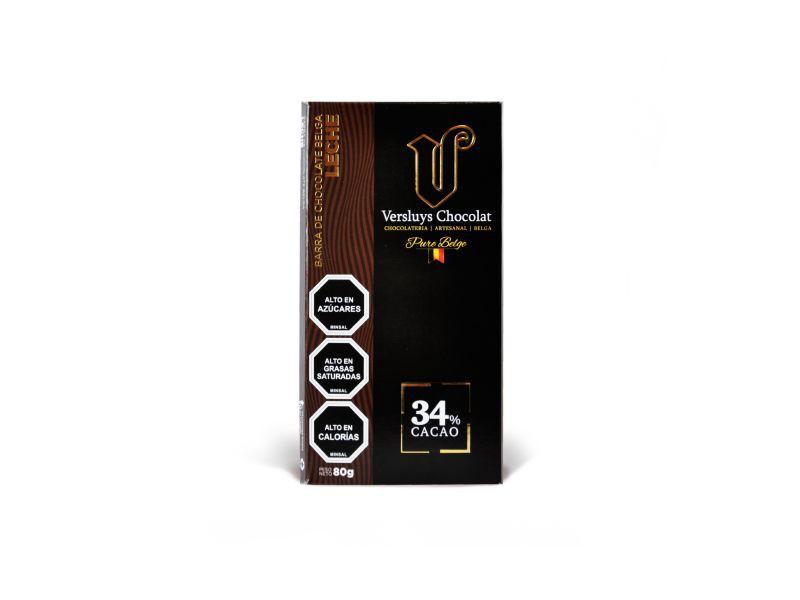Chocolate belga leche