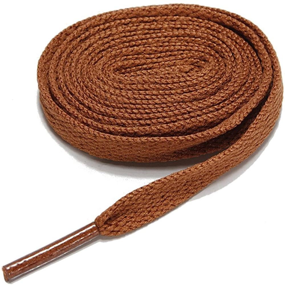 Cordón plano café 90 cm