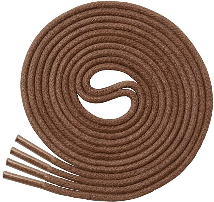 Cordón redondo café 90 cm