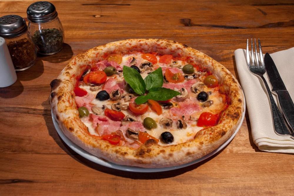 Pizza azzurra Caja pizza 30 cm