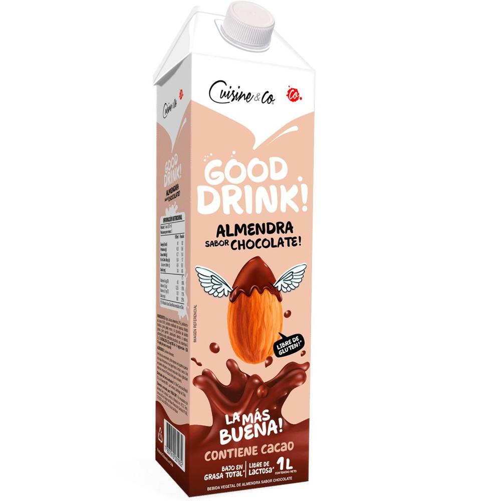 Bebida de almendra sabor chocolate