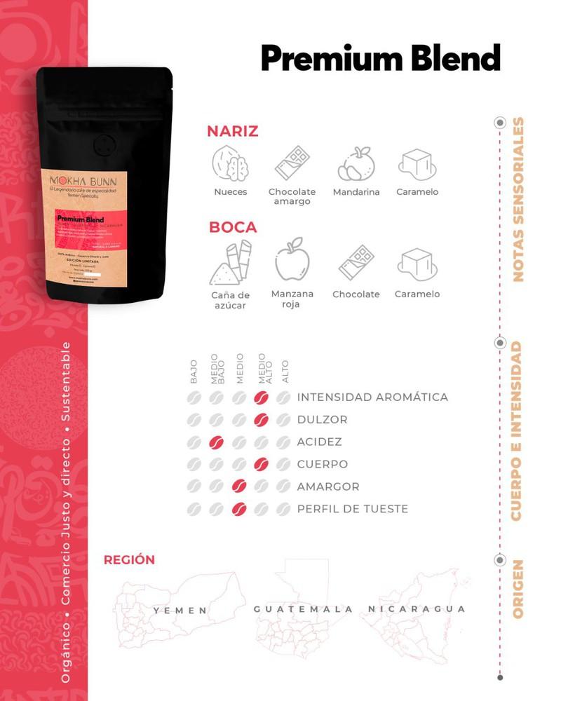 (Nuevo) Premium Blend   En Granos   Café De Especialidad 250 g