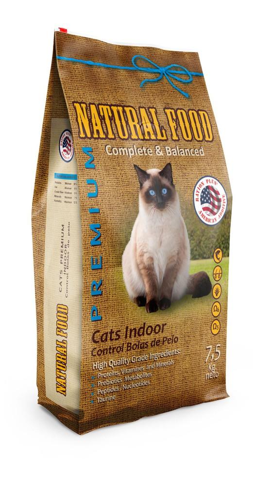 Cats indoor control bolas de pelos