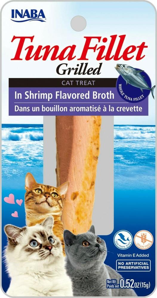 Grilled tuna fillet, tuna flavored broth