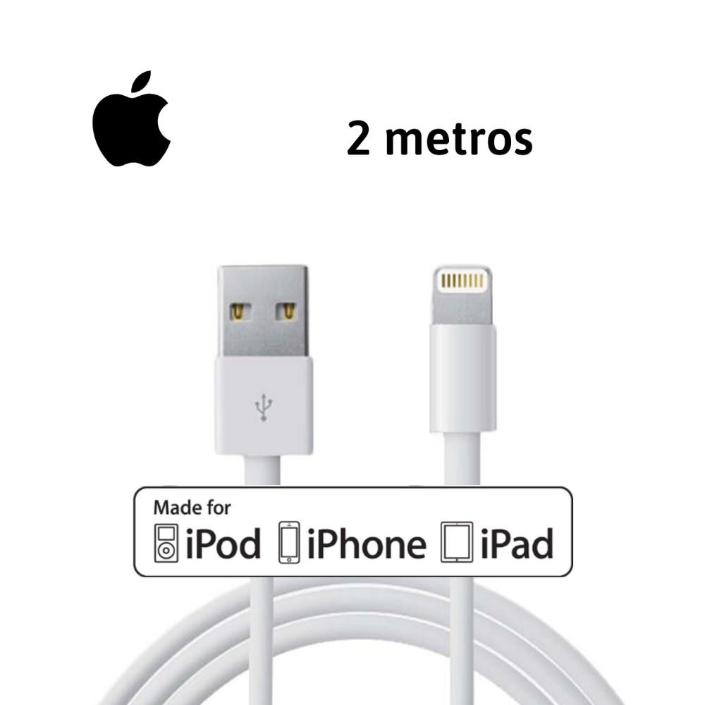 Cable iphone original - 2 metros 1 un