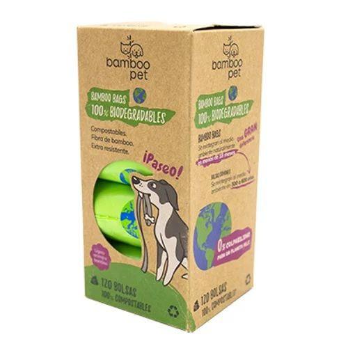 Bolsas biodegradables Paquete de 8 rollos