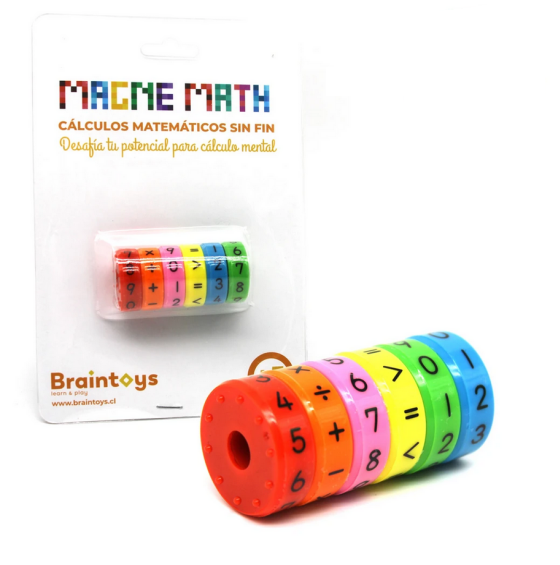Magne math rueda magnética