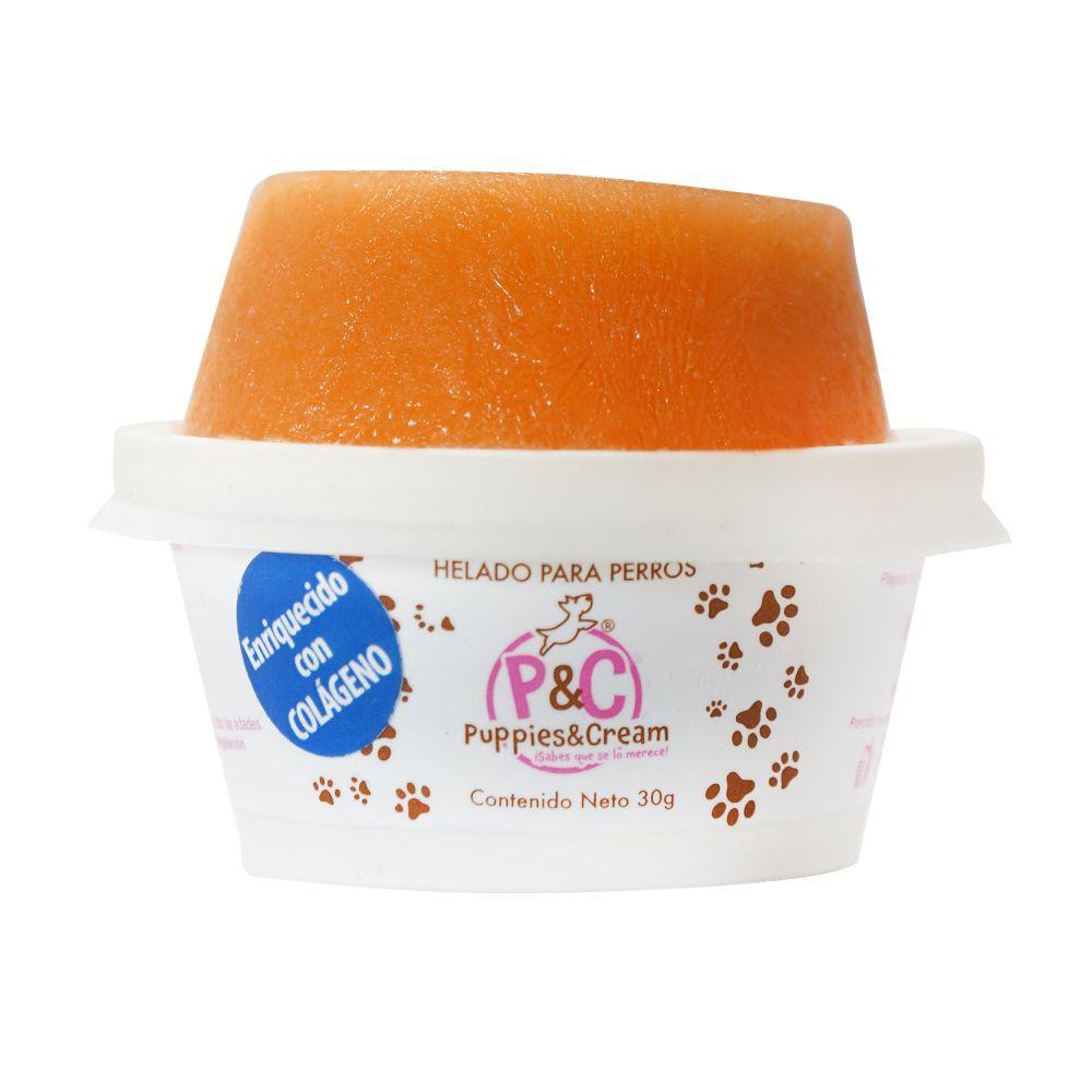 Helado para perro zanahoria vainilla chico (ZA) 30 g