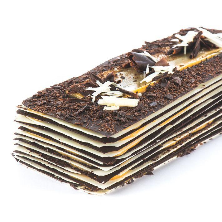 Barra láminas de chocolate