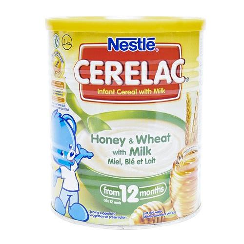 Cerelac honey & wheat w/ milk