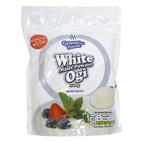White maize powder ogi