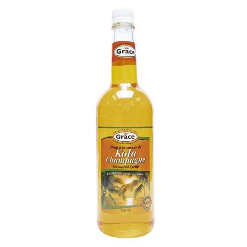 Kola champagne flavoured syrup