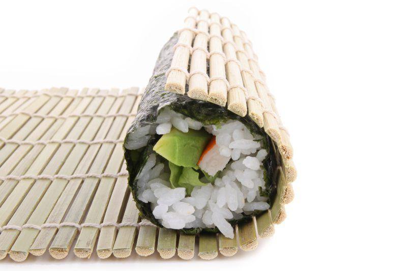 Esterilla para hacer roll de sushi