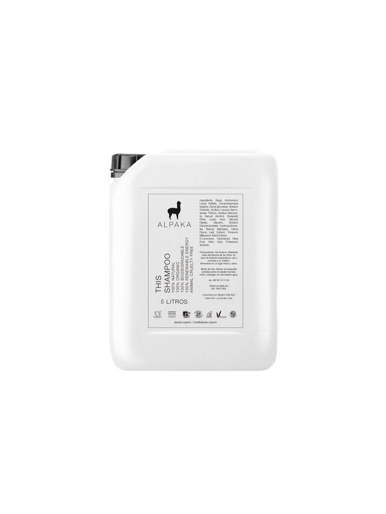 Bidon 5 Litros Shampoo Alpaka Organic 5 l