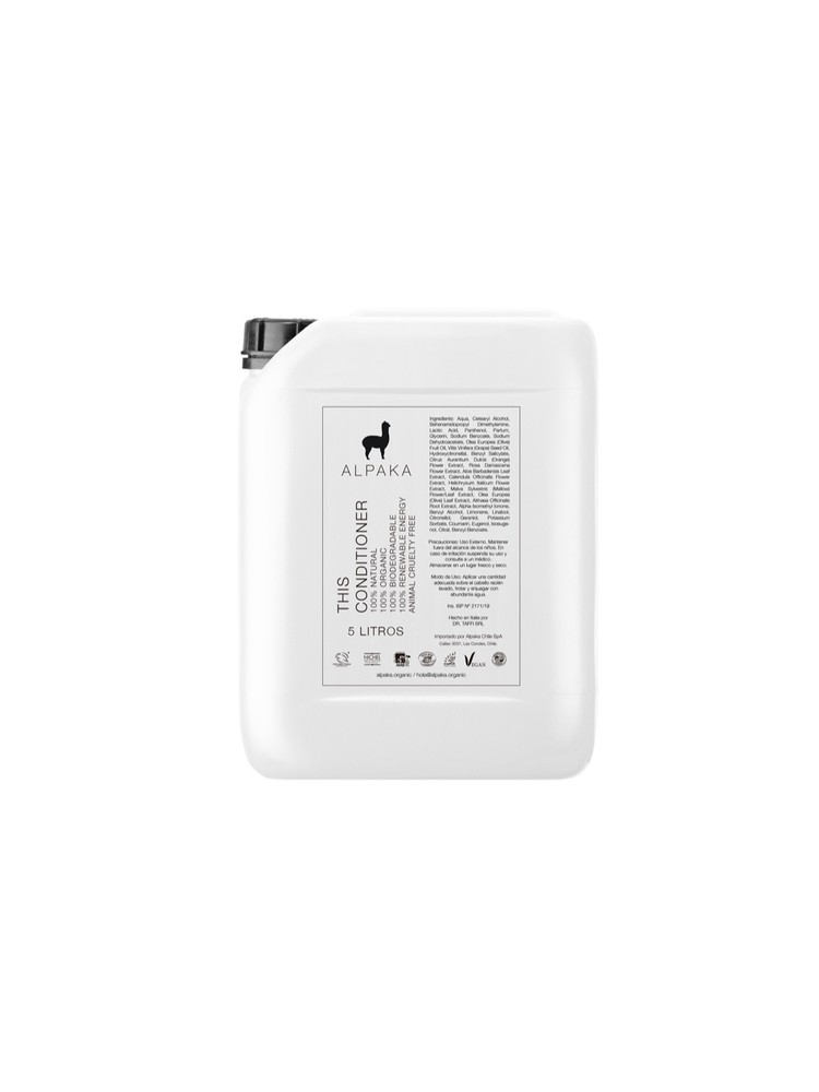 Bidón 5 Litros Acondicionador Alpaka Organic
