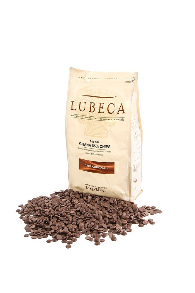 Bolsa Chocolate bitter ghana 85% cacao