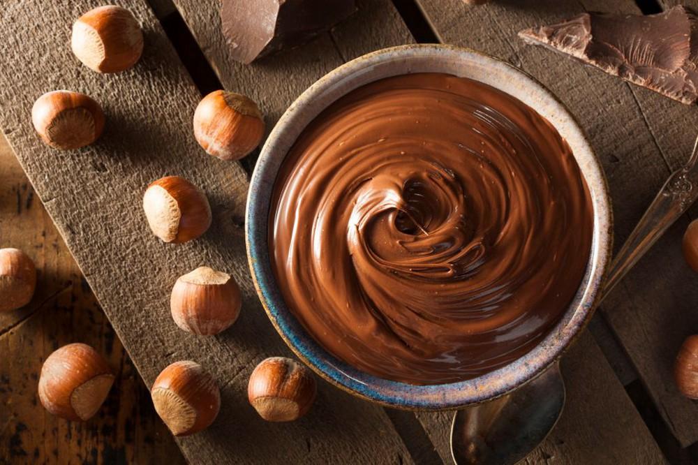Praline de avellana con chocolate
