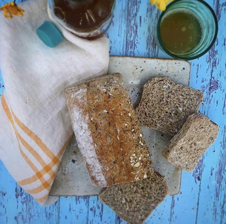 Pan semillas kombucha