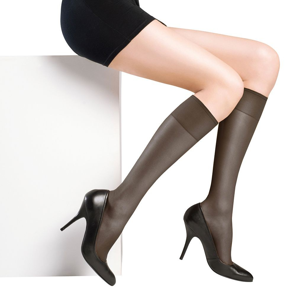 Media pantalón elasticada 0154 negro