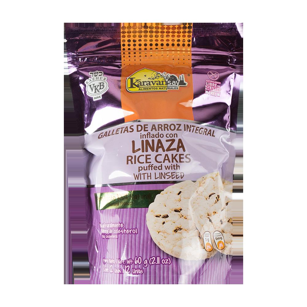 Galleta arroz int+lin 60g
