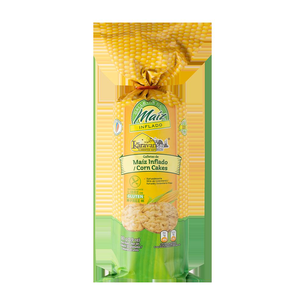 Galleta maiz 110g