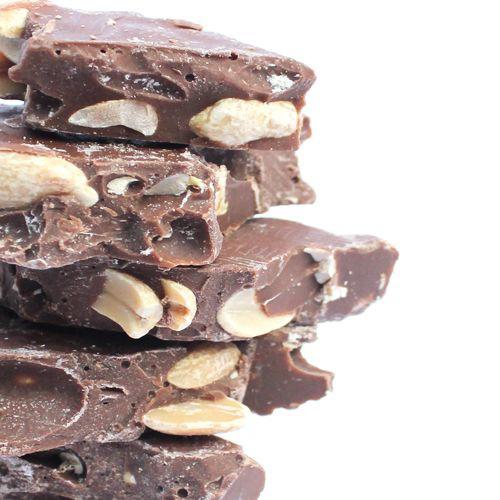 Chocolate con maní Bolsita de 100 g.