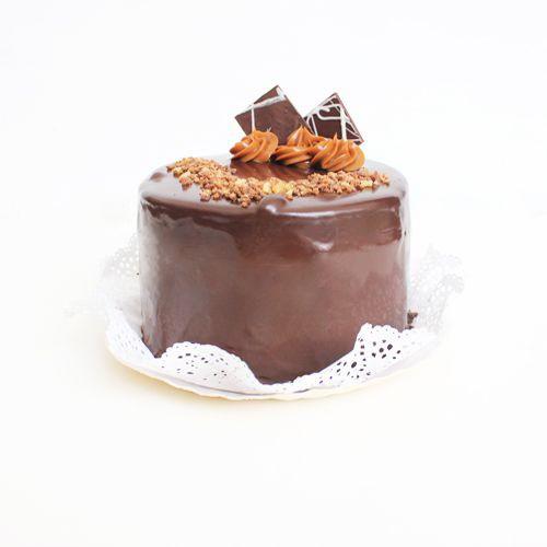 Torta brownie manjar 5p 5 personas
