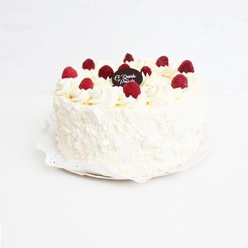 Torta merengue frambuesa 10-12 personas