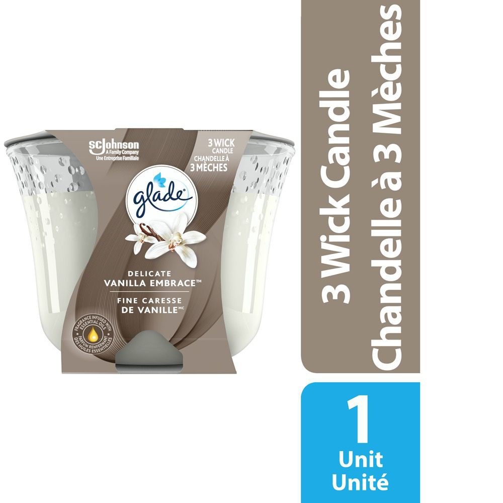 3 wick scented candle air freshener