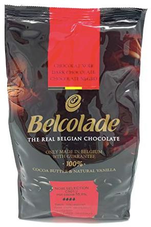 Chocolate belga amargo (55% de cacao) 1k Bolsa 1k