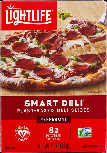 Pepperoni vegano