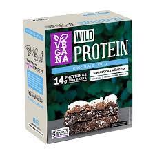 Barra de proteína vegana chocolate coco 5 barras