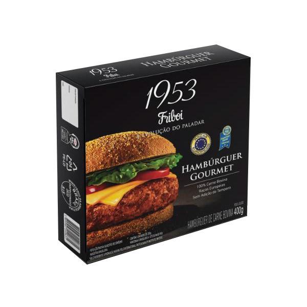 Hambúrguer gourmet bovino