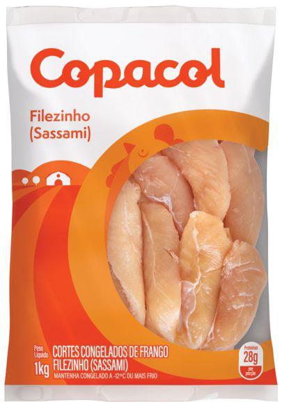 Filezinho de frango sassami congelado